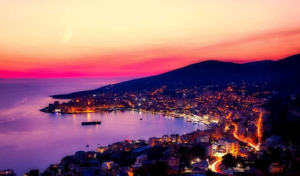 wybrzeże Sarande Albania